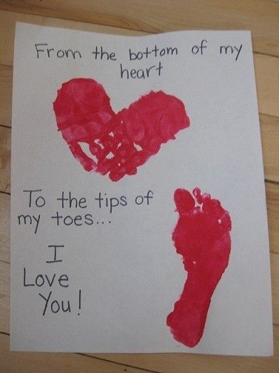 cute valentine for kids to make for parents/grandparents