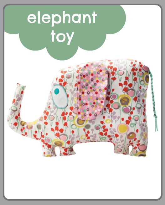 #Elephant toy - free project for you :)