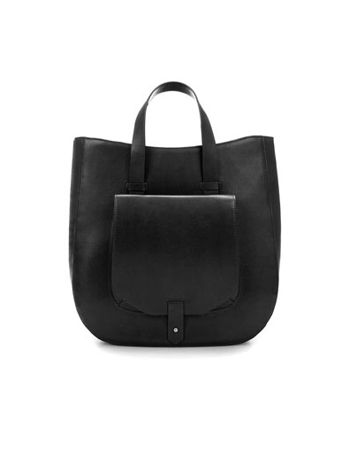 TOTE BAG WITH POCKET - ZARA United States