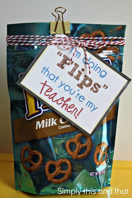 Back to School Teacher Gift.