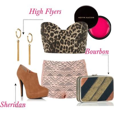 Bourbon clutch #handbags