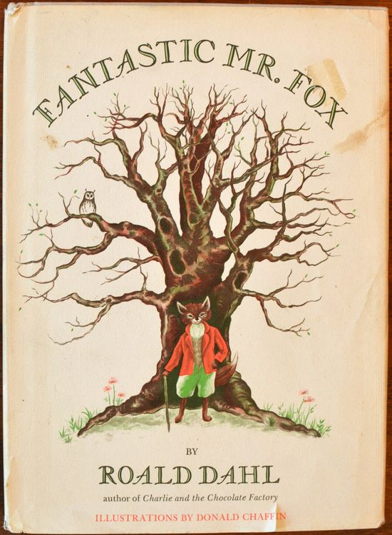 first edition ofFantastic Mr. Fox(1970)