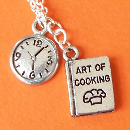 art of cooking necklaces