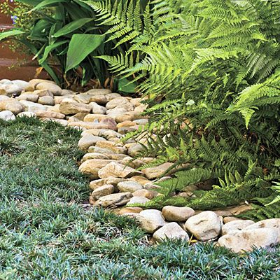 decorative garden stones