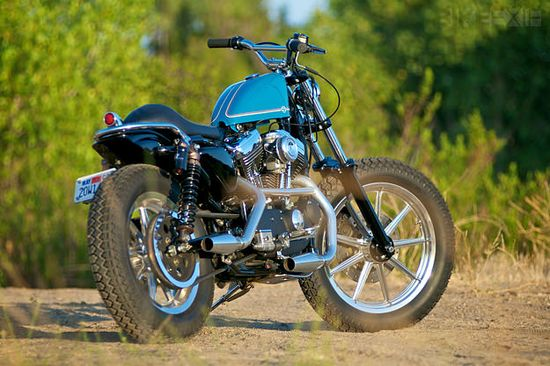 Bill Bryant's Harley Sportster.....one of the cleanest, classiest Sportsters I've ever seen