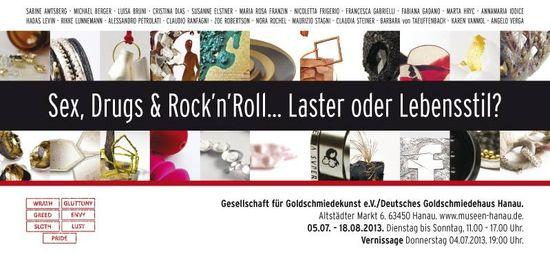 mostra al Museo di HANAU Deutsches Goldschmiedehaus- Mostra concorso a cura di Gigi Mariani ed Heidemarie Herb - 5-07/18-08