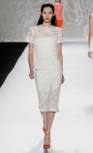Mercedes-Benz Fashion Week : Monique Lhuillier - Spring 2014