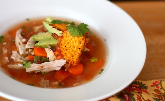 Paleo Crockpot Mexican Chicken Soup