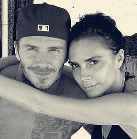 Victoria and David Beckham are the CUTEST!