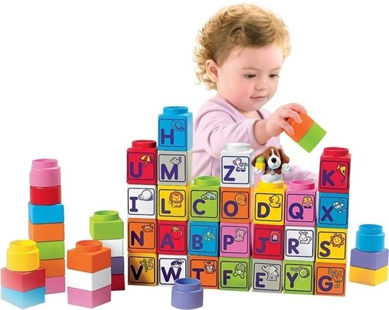 Stack 'n Learn Alphabet Blocks, $36.33