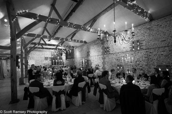 Upwaltham Barns Wedding Reception