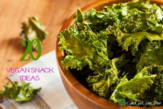 20 Vegan Snack Ideas #organic #health #RealFood