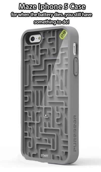 Maze iPhone case.