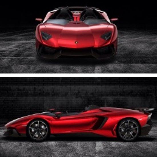 Just really love the sleek design of the Lamborghini Aventador J!