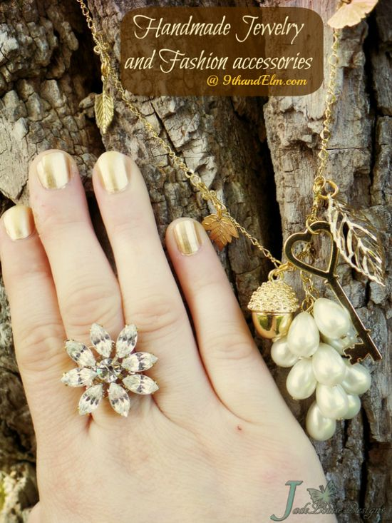 Hand Crafted Fashion and Handmade Jewelry at your finger Tips with 9thandElm.com