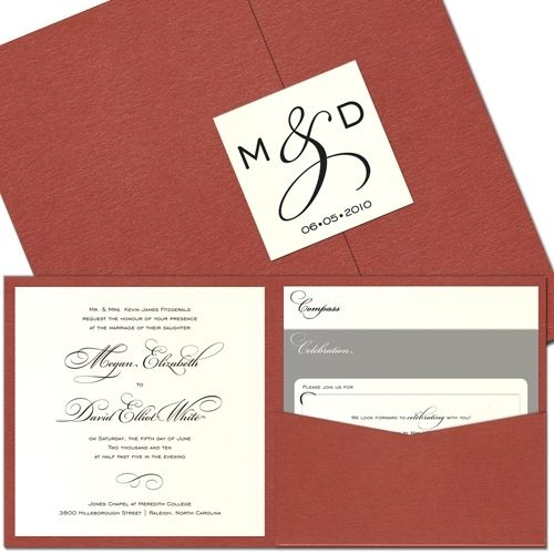 Love these Wedding invitations
