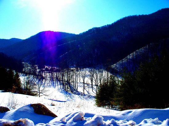 West Virginia in February