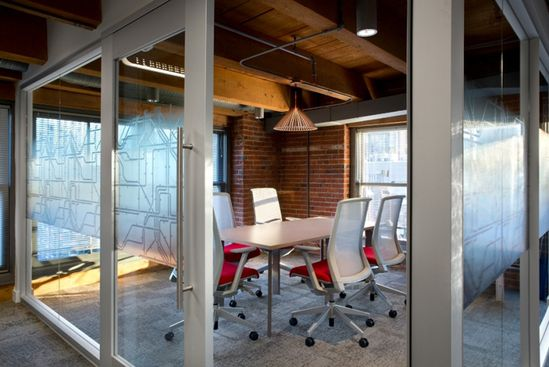 ARCHITECTURE FIRM OFFICES! Urban Systems office by Ashley Pryce Interior Design, Vancouver office design