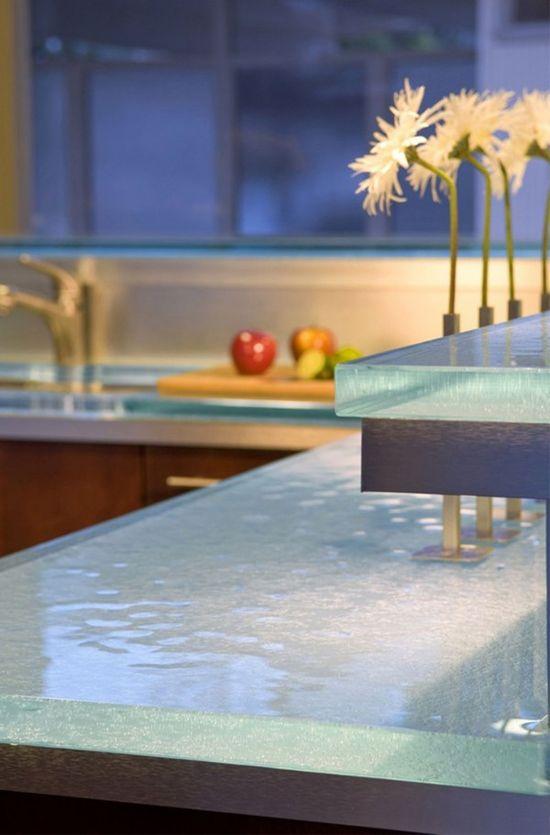 Modern countertop kitchen design