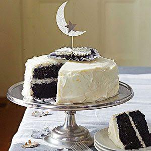 Black Velvet #Cake with Orange Cream Cheese Frosting