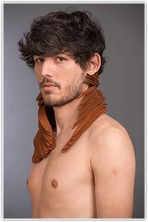 Arthur Bouillé  Bel ami, 2013  neckpiece  1st Bachelor La Cambre