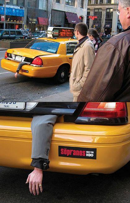 Sopranos - Guerilla Marketing #Promotions #Marketing