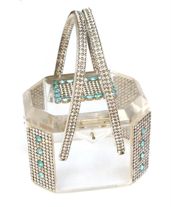 Lucite purse - The Carole Tanenbaum Vintage Collection