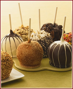 Candy apples - YUM!