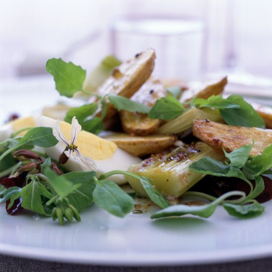 Roasted Leek & Potato Salad // More Tasty Quick Sides: www.foodandwine.c... #foodandwine
