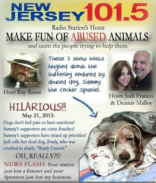 We need to keep this story in the forefront.  These people need to be fired.  The petition is short on signatures.  Please help with this!  ANIMAL ABUSE IS NOT A JOKE!