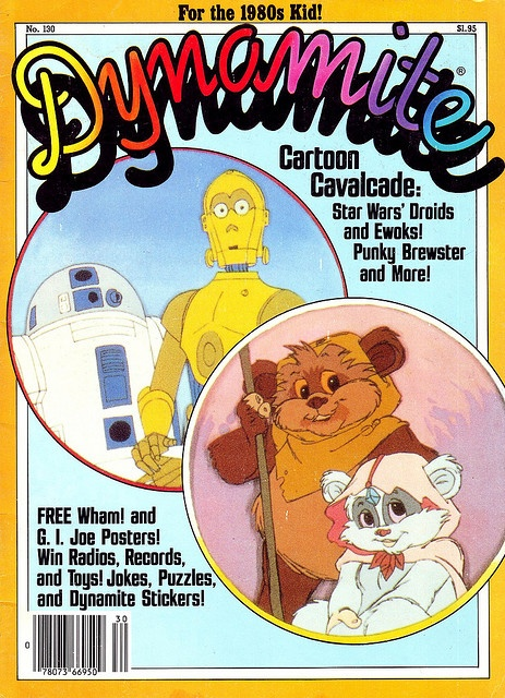 I'd forgotten about Scholastic Books Dynamite magazine until I saw this pin today... Bam. Synapses kick in. Hey, I had that! I remember that magazine! It was awesome!