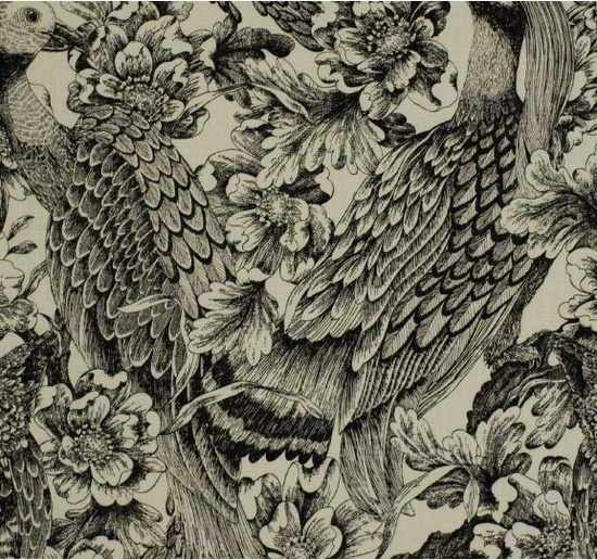 Etched Aviary via DwellStudio