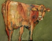 ...paintings of cows.