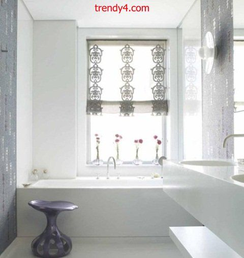 Bold and romantic bath 2014 Bathroom interior design 2014