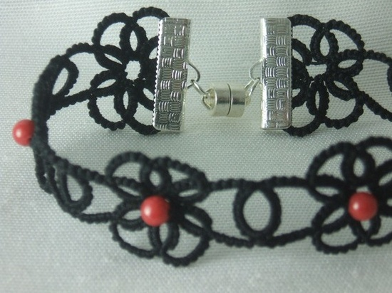 Tatted Lace Bracelet
