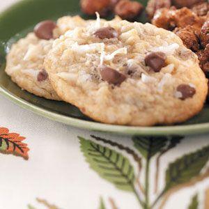 Coconut Crunch Cookies Recipe