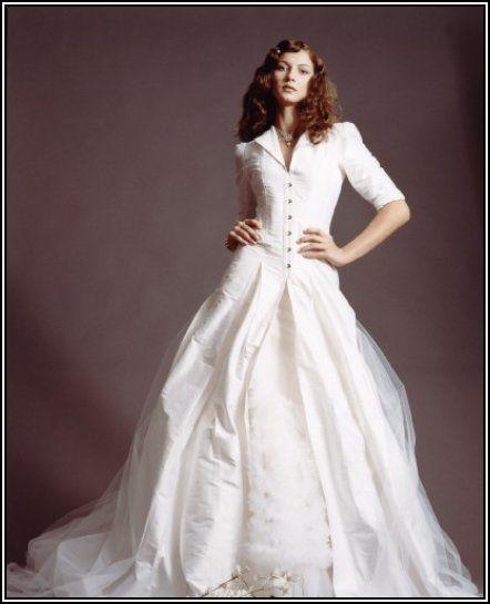 old time wedding dresses