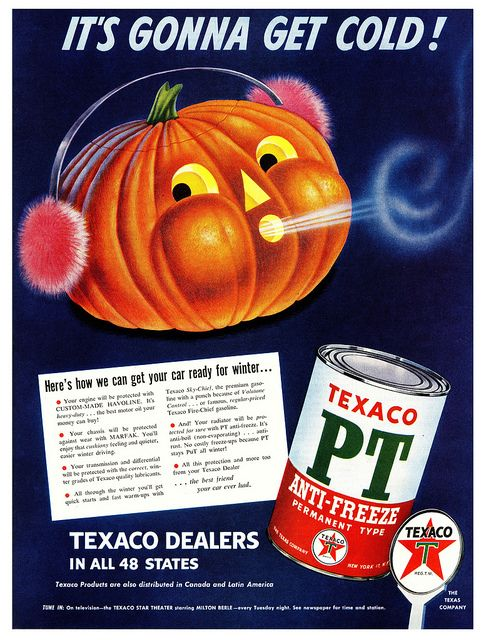 Texaco PT Anti-Freeze 1951