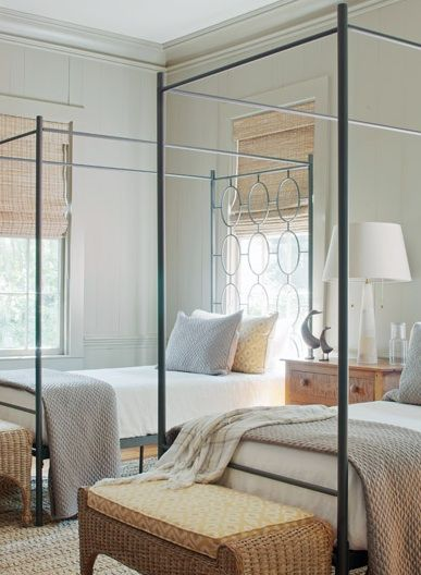 Chic Bedroom. Love everything!