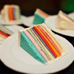 Yum! Colorful cake