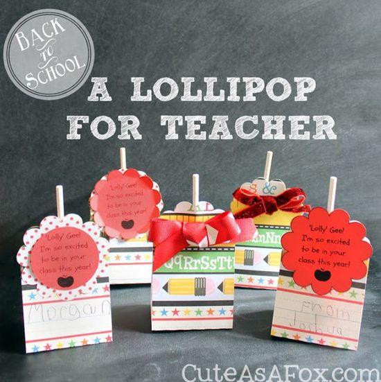 Back to School Lollipop Treat by @Ashley Walters Whipple #Michaelsbts