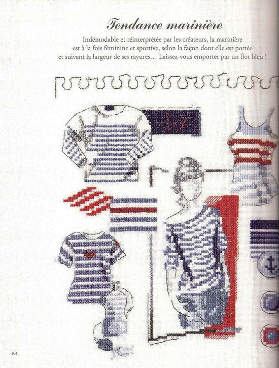 la mode en marinière