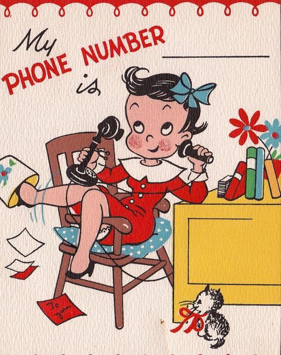 1948 Vintage Valentine Card