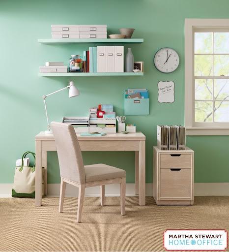 adorable martha stewart office space