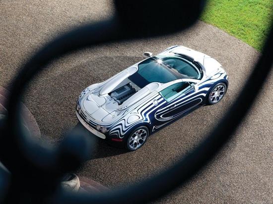2011 Bugatti Veyron Grand Sport LOr Blanc