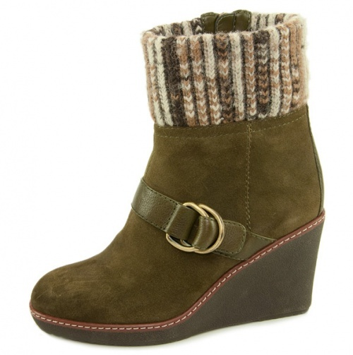 Warm Wedge Boot.
