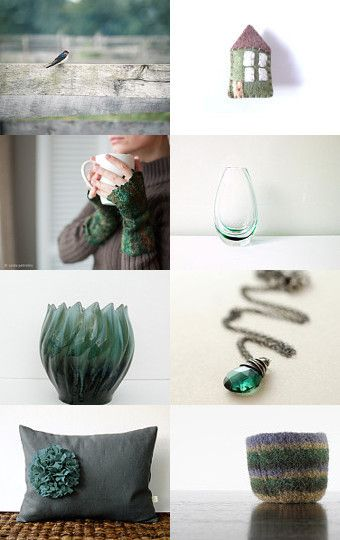 emerald mood board