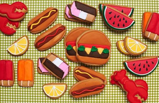 Summer picnic - NY Eleni's Cookies