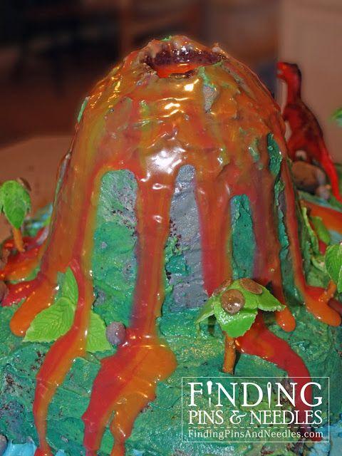 tutorial: Dino Island Cake