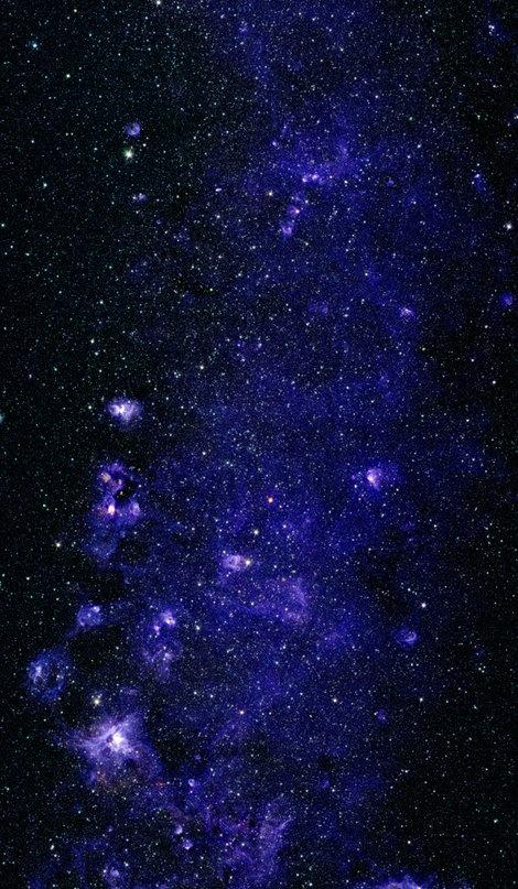 Blue Nebula fabric by corseceng